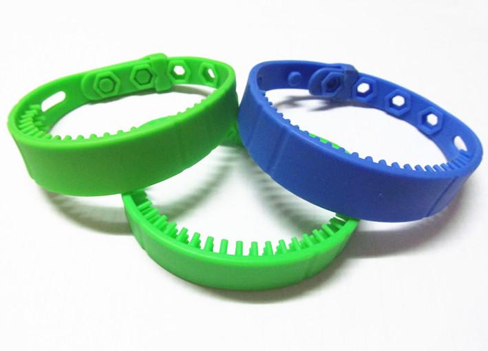 RFID超高频远距离硅胶腕带标签