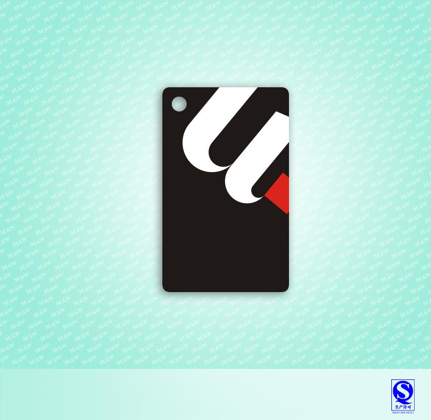 优点科技门锁滴胶卡