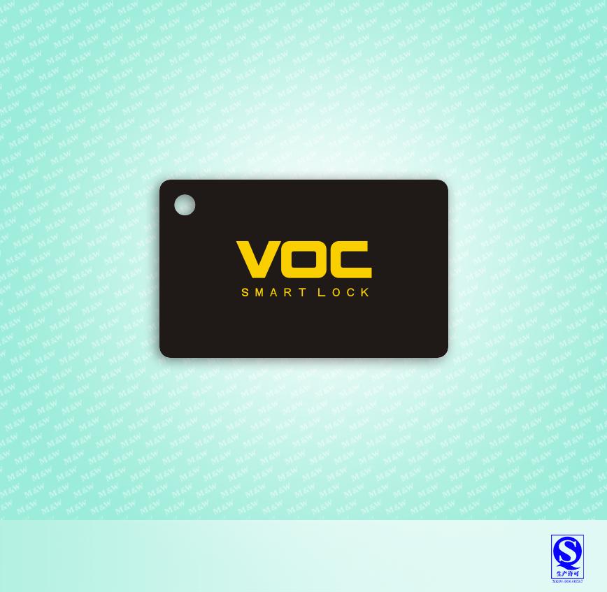 VOC滴胶卡